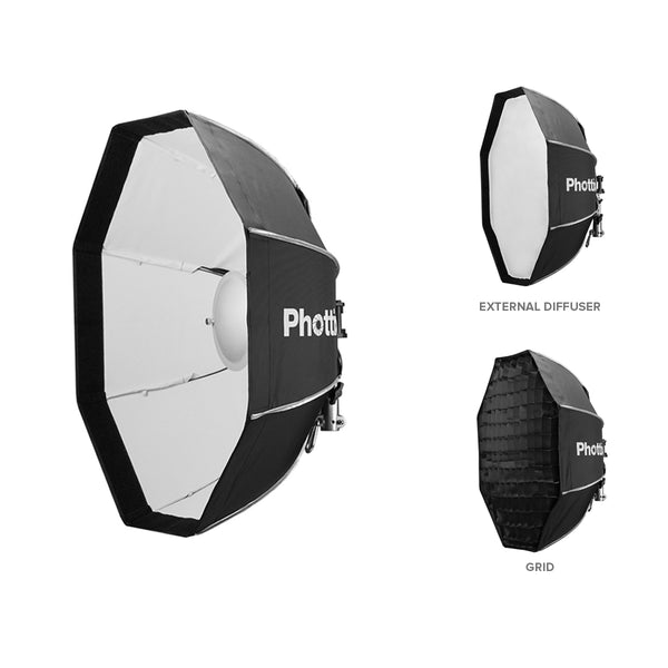 Phottix Spartan Beauty Dish Softbox 70cm / 28 Inches White (82741 , PH82741)