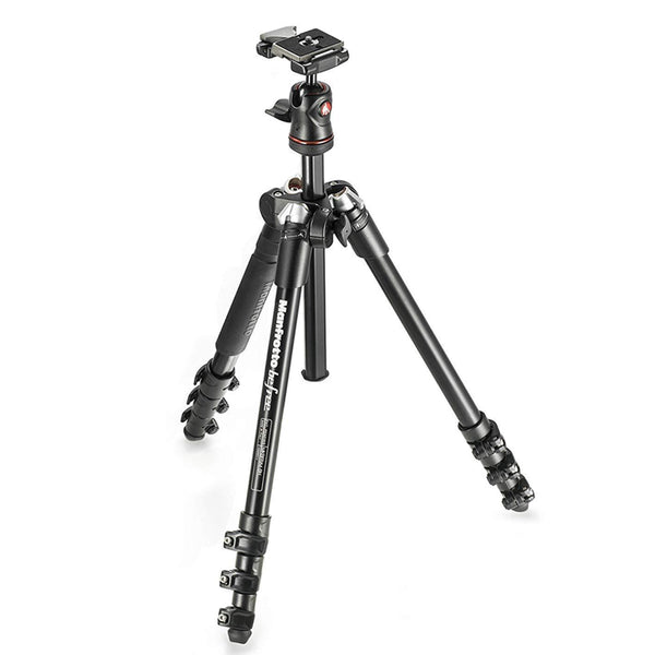 Manfrotto MKBFRA4-BH BeFree Compact Aluminum Travel Tripod