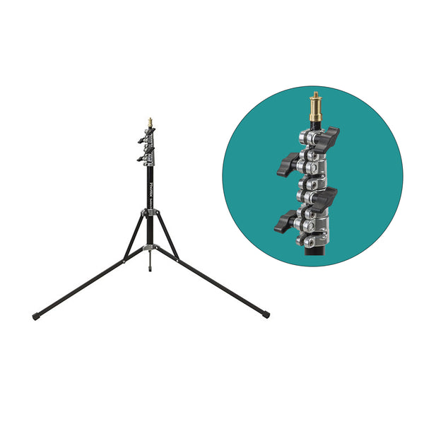 Phottix Saldo 200 Compact Light Stand 200cm / 6.5 ft / 79 Inches  (88207 , PH88207)