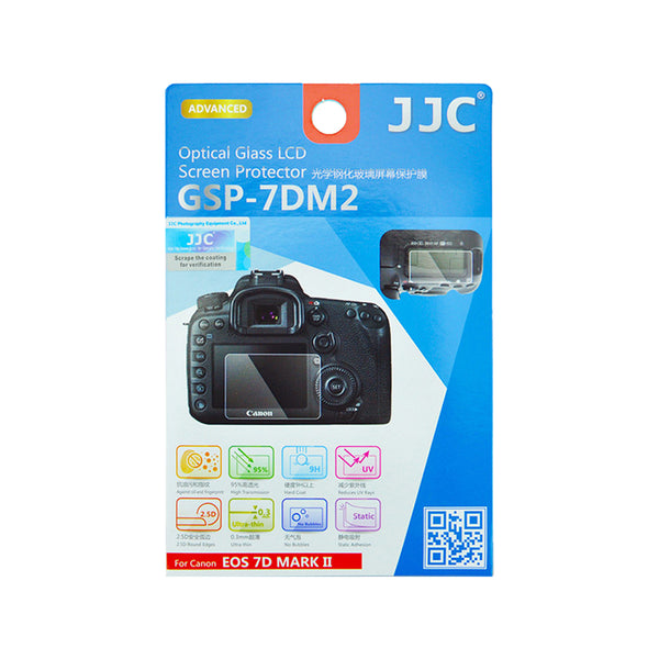 JJC Ultra-thin LCD Screen Protector for CANON EOS 7D MARK II (GSP-7DM2)