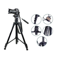 Yunteng 880 Fluid Head Video Tripod VCT-880 DSLR MIRRORLESS VCT 880