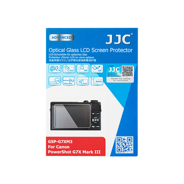 JJC Ultra-thin LCD Screen Protector for CANON PowerShot G7X Mark III, EOS M200 (GSP-G7XM3)