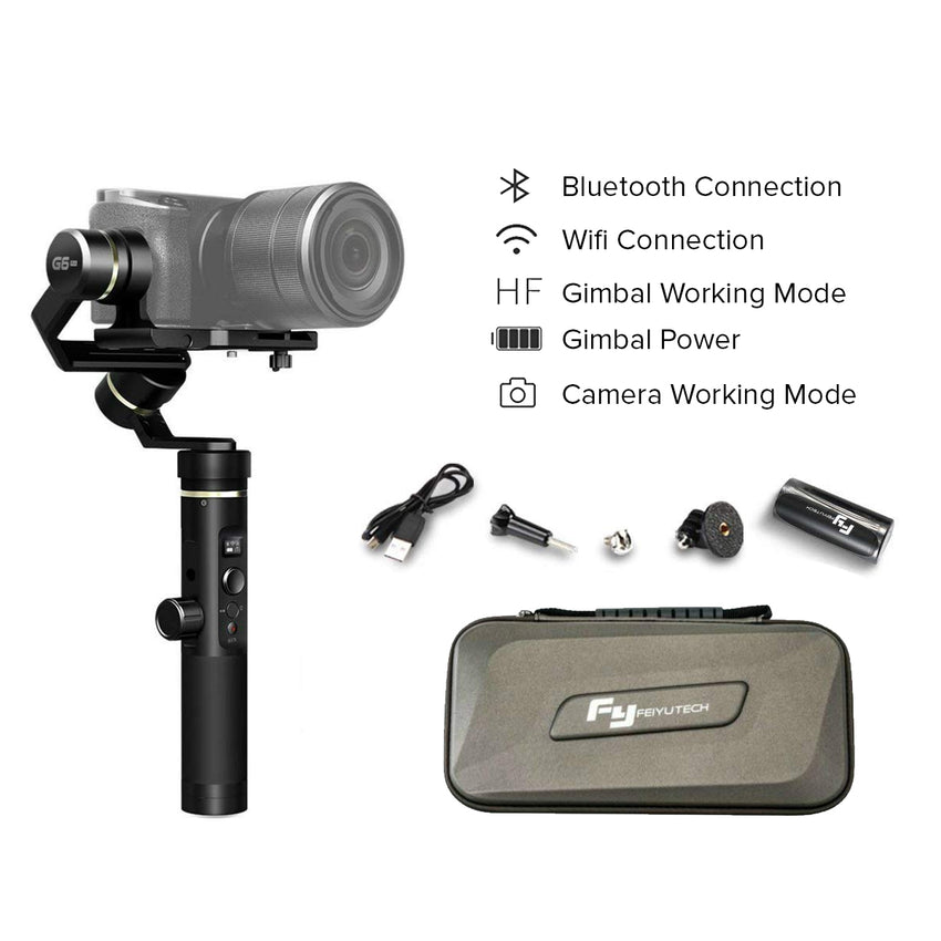 Feiyu G6 Plus 3-Axis Handheld Gimbal Stabilizer 3-in-1 Feiyutech G6Plus