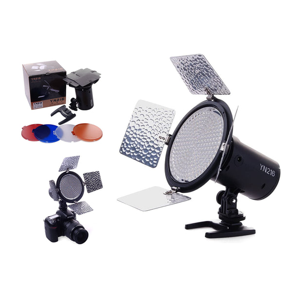 Yongnuo YN216 3200-5500k Bi-color LED On-Camera Light Flash YN216