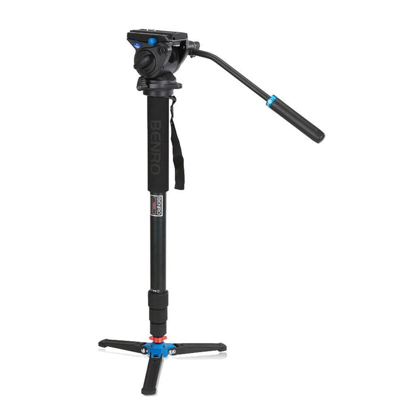 Benro A48TDS4 Monopod with Screw Lock Feet for DSLR Camcorder Mirrorless Photography Travel