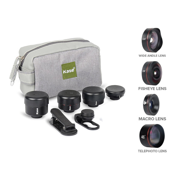 Kase Mobile Phone Lens II 4 in 1 Kit