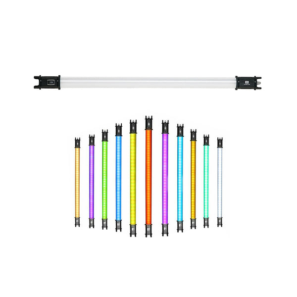 NanLite PavoTube 15C 2ft RGBWW LED Tube with Internal Battery