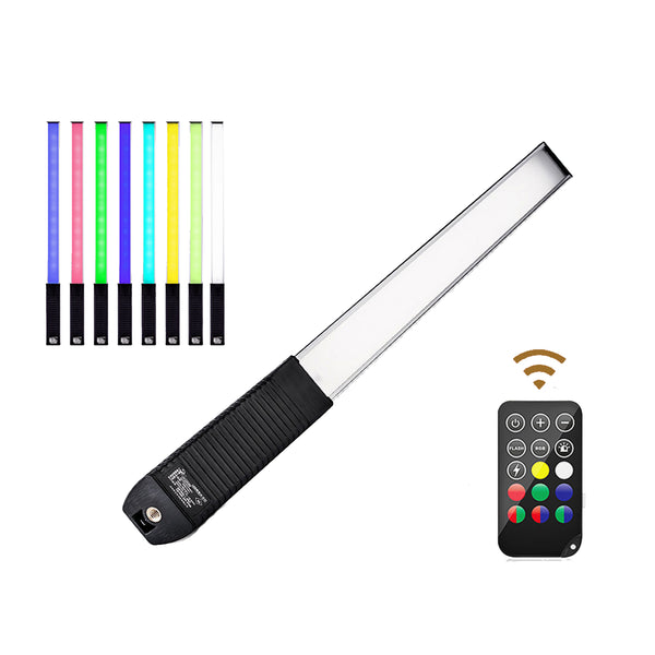 LUXCEO Q508A RGB LED Light Wand with Remote Control for Photography and Video