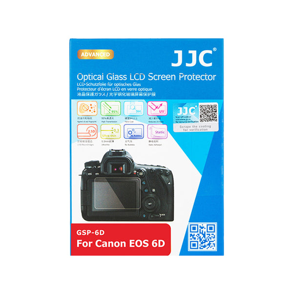 JJC Ultra-thin LCD Screen Protector for CANON EOS 6D (GSP-6D)