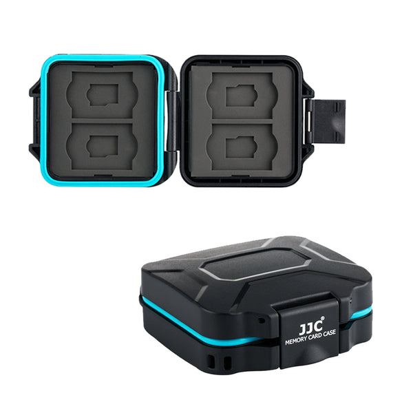 JJC Memory Card Case fits SD x 4, TF x 4 ( MCR-ST8 )