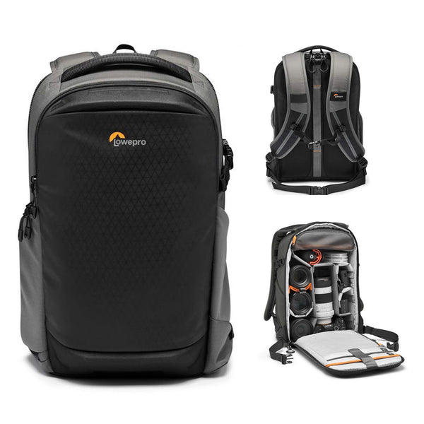 Lowepro Flipside BP 300 AW III Camera & Laptop Backpack, Black and Dark Grey