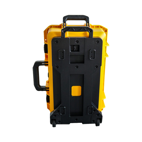 VESSEL CC1 Trolley Hard Case Camera Photography Equipment Case (Yellow)