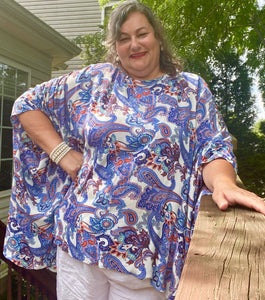 Grace Color Blocked Caftan Pattern - Digital Download (PDF)