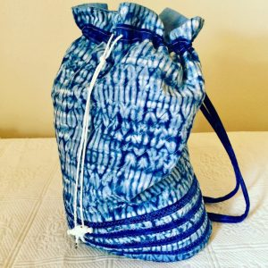 Shibori Print Shoulder Bag Pattern - Digital Download (PDF)