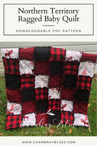 Northern Territory Ragged Baby Quilt Pattern - Digital Download (PDF)