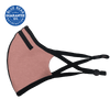 pink sports face mask side view