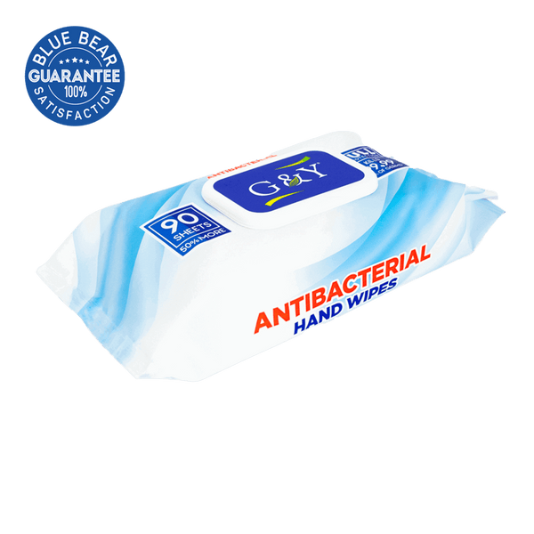 Antibacterial Hand Wipes In a Package