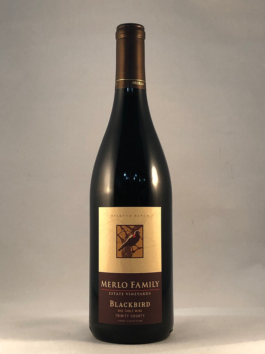 Merlo Family Estate Vineyards – Blackbird Red Table Wine