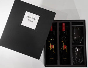 3-channel presentation gift box