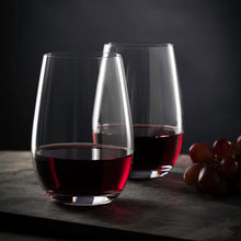 Load image into Gallery viewer, Pair of Stolzle Wine Glasses - Choose Stemmed or Stemless