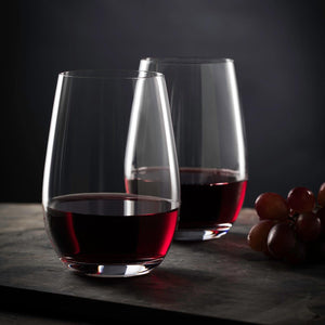 Pair of Stolzle Wine Glasses - Choose Stemmed or Stemless