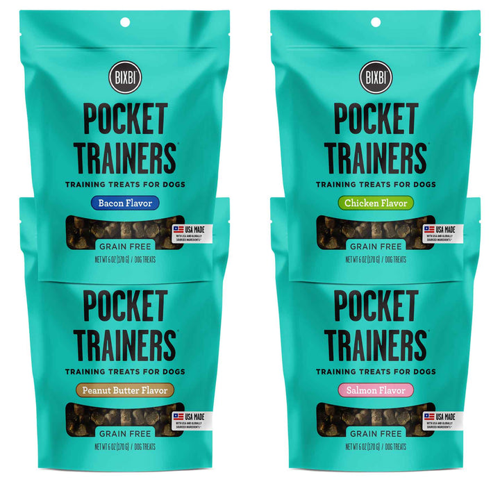 Pocket Trainers<br>Grain Free Soft & Chewy<br>Dog Training Treats