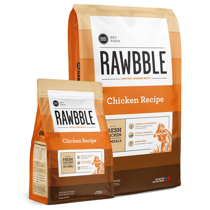 Rawbble Grain Free Chicken<br>Limited Ingredient Dry Dog Food