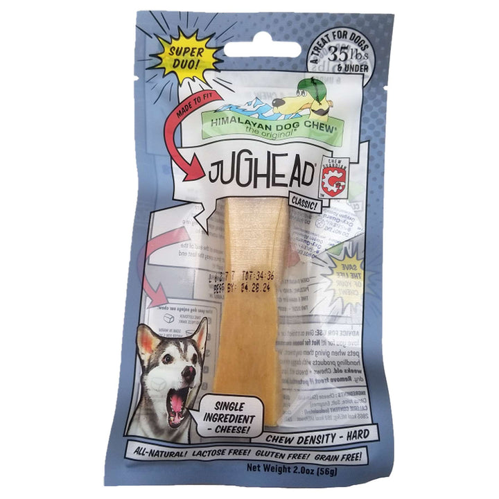 Jughead The Original Cheese Dog Chew<br>Hard Density Treats
