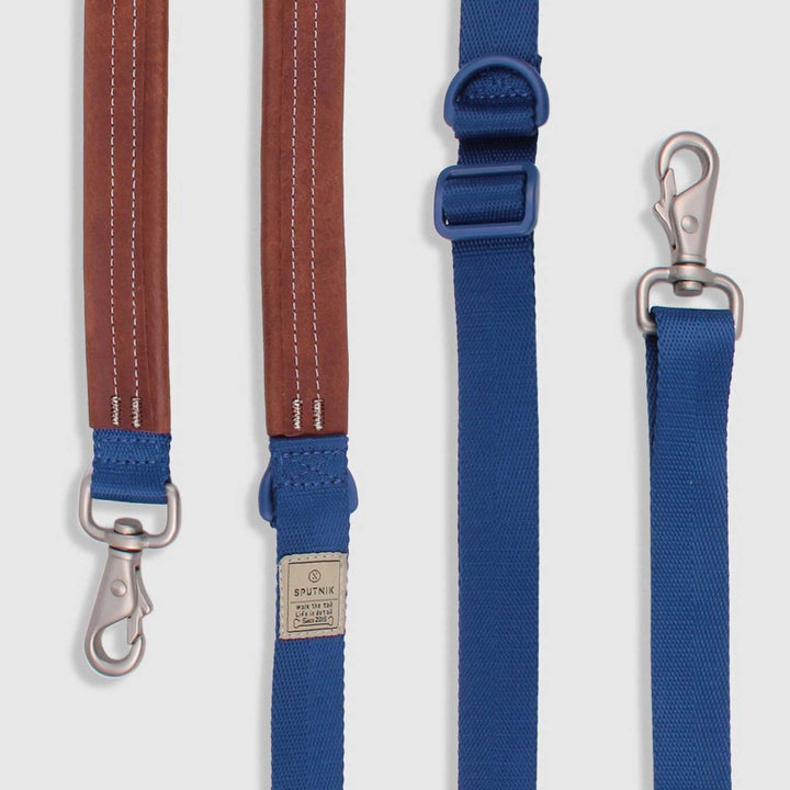 Multi-Function Dog Leash<br>Blue