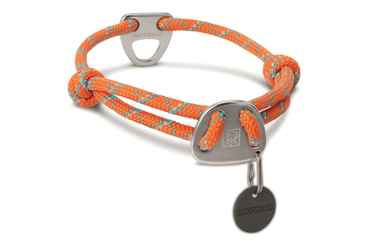 Knot-a-Collar™<br>Reflective Adjustable Rope Dog Collar