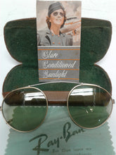 Load image into Gallery viewer, Rayban Vintage 1941 Bausch & Lomb Clip On Optical Grade Lenses $99