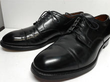 Load image into Gallery viewer, Brooks Brothers Men's Shoes Captoe 11 D Black Leather Preowned $195