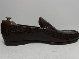 Ralph Lauren Purple Label Alligator 12 D Loafers