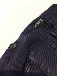 Versace Jeans Couture 40 x 32 Purple Denim Jeans. Excellent Quality. Preowned in Excellent Condition. $115.00.