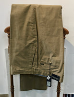Faconnable Men's Gabardine Double Ply Chino Pant, Khaki, 42 Unhemmed, Imported, New with tags, never worn, $74.50