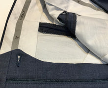 Load image into Gallery viewer, Canali Mens Slacks, Blue-Grey, 42 x 28, Handmade in Italy, $89.50