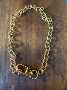 swivel lobster clasp necklace