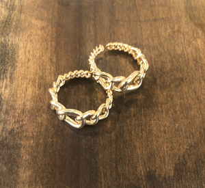 oval chain link ring