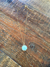 Load image into Gallery viewer, turquoise pendant necklace