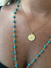 Load image into Gallery viewer, astrological coin necklace