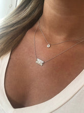 Load image into Gallery viewer, tiny north star pendant necklace
