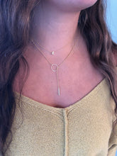 Load image into Gallery viewer, lariat necklace. y necklace