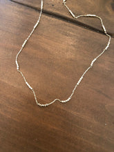 Load image into Gallery viewer, dainty microbeaded gold chain choker necklace