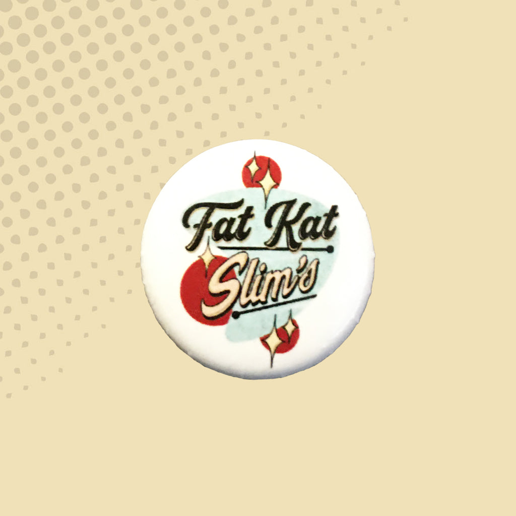 Fat Kat Slim's Logo Button