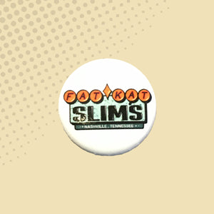 Fat Kat Slim's Marquee Logo Button