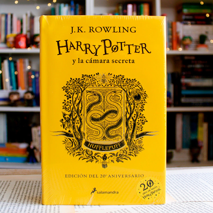 HARRY POTTER Y LA CÁMARA SECRETA (HUFFLEPUFF)
