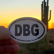 Load image into Gallery viewer, DBG  Adventure Club Tumbler Sticker