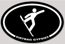 Load image into Gallery viewer, Dirtbag Gypsies Snowboarder Sticker
