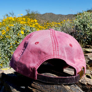 Nautical Red Dirtbag Gypsies Patched Hat!  Adams Optimum Solid Pigment Dyed Hat.