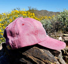 Load image into Gallery viewer, Nautical Red Dirtbag Gypsies Patched Hat!  Adams Optimum Solid Pigment Dyed Hat.